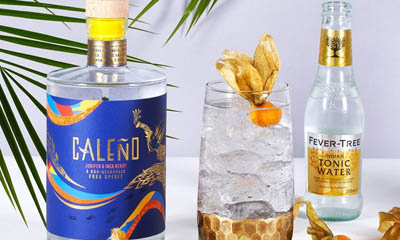 Free Caleno Non-Alcoholic Gin
