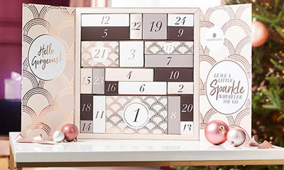Free Glossybox Advent Calendar