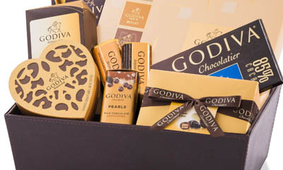 Free Godiva Chocolate Hampers