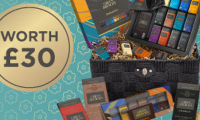 Win 1 of 3 Green & Blacks Lovers Hampers