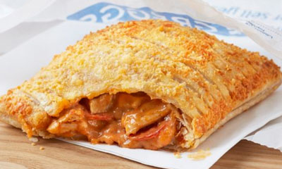 Free Greggs Spicy Chicken & Pepperoni Bake