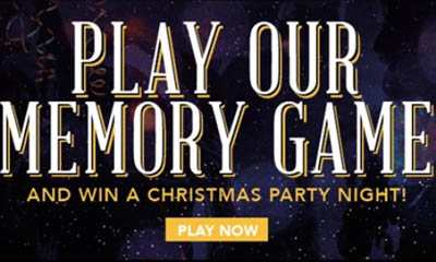 Win a Christmas Party for 9 People