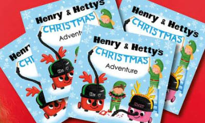 Free Henry Hoover Christmas Book