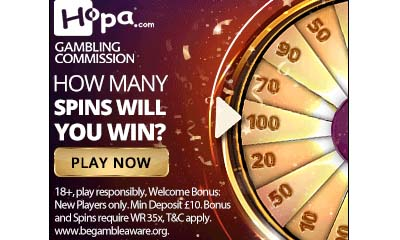 You've Hit Gold! 100 Spins & up to £500 Bonus