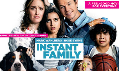 Free Cinema Tickets to See 'Instant Family'
