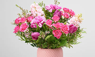 Free Bouquet of Flowers from Interflora