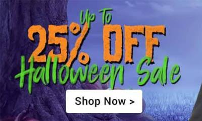 25% off Halloween Sale