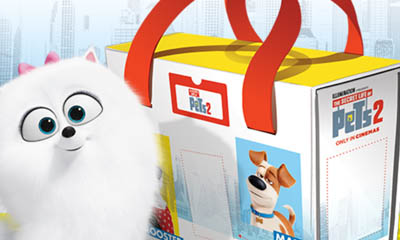 Free Pets 2 Toy Storage Cases from Kinder