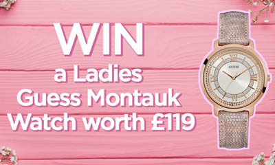 Win a Guess Ladies Montauk Watch