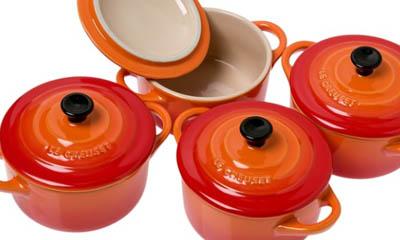 Free Le Creuset Cookware Sets