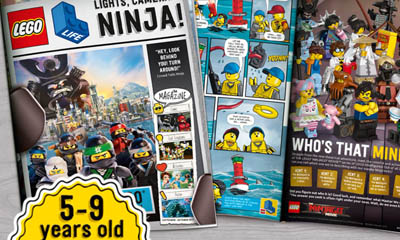 Get The FREE LEGO® Life Magazine