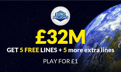 £32M Euromillions Jackpot - 10 Tickets for £1