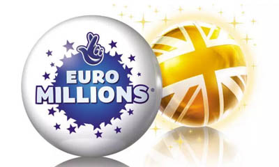 £14m Euromillions Jackpot - 10 Tickets for £1