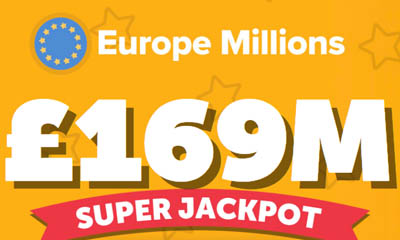 55 Free Syndicate Tickets £169M Jackpot !