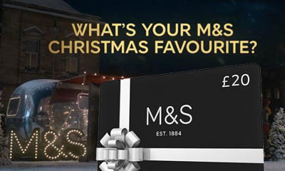 Free M&S Gift Cards (up to £50)