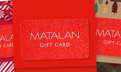 Free Matalan Gift Card