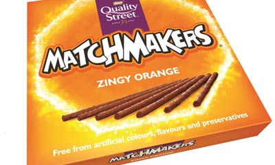 Free Quality Street Matchmakers Orange