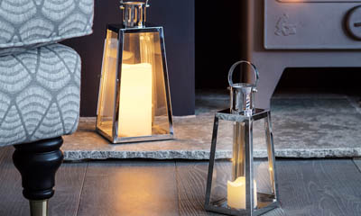 Win a Pair of Miners Stainless Steel LED Lanterns