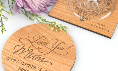 Free Mother's Day Coasters