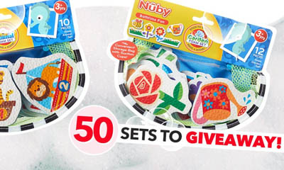 Free Nuby Foam Bath Toy Sets