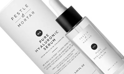 Free Pestle & Mortar Pure Hyaluronic Serum