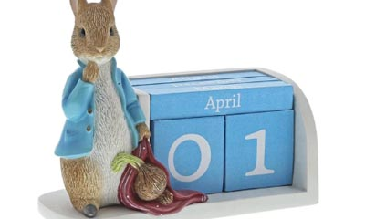 Free Peter Rabbit Perpetual Calendar by Beatrix Potter