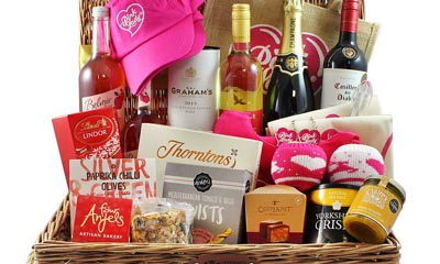 Free Valentine's Hampers from Pink Lady