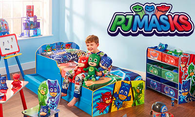 Win a PJ Masks Bedroom HQ with Argos