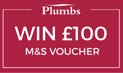 Win £100 M&S Voucher in the Plumbs Prize Draw
