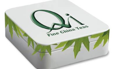 Free Tin of Organic Qi Teas