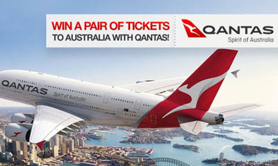 Win Return Flights to Australia with Qantas