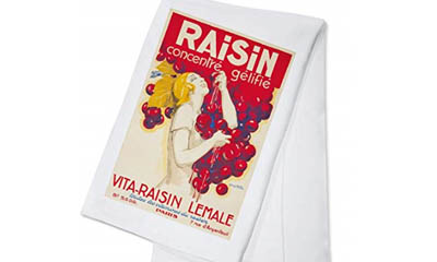 Free California Raisins Tea-Towels