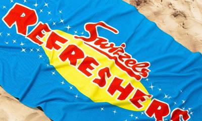 Free Refreshers Beach Towel