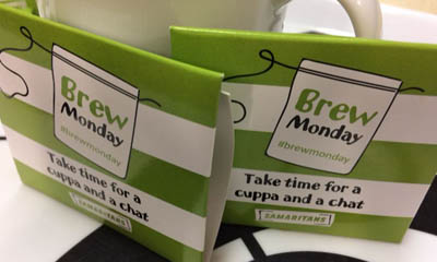 Free Teabags from Samaritans
