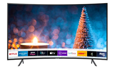 Win a Samsung Curved 4K TV