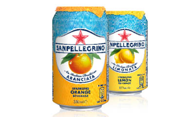 Free 12-Pack of Sanpellegrino Orange and Lemon Drinks