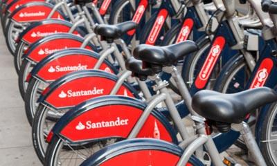 Free 24 hour Santander Cycle Hire in December