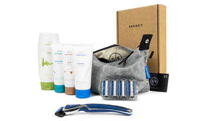 Free Mens Shaving Kit Worth £31