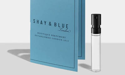 Free 5ml Vial of Shay Blue Blackberry Woods Fragrance