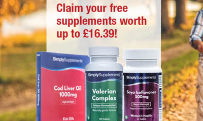 Free Codliver Oil Supplements worth £16.99