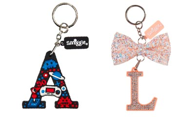 Free Alphabet Keyrings