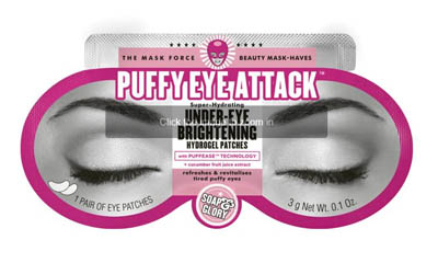 Free Soap & Glory Puffy Eye Attack Patches