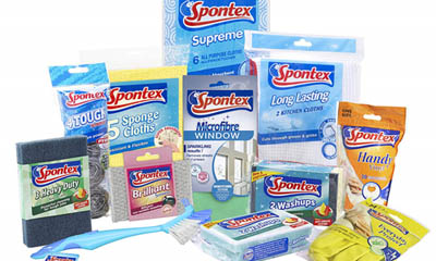 Free Bundles of Spontex Cleaning Products