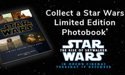 Free Limited Edition Star Wars Photobook