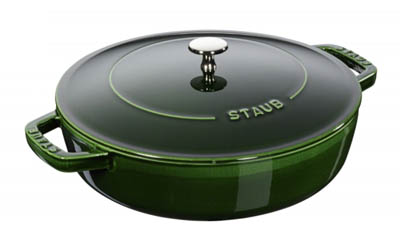 Win a Staub Cast Iron Saute Pan