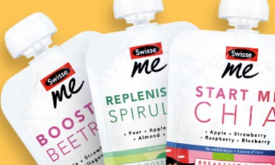 Enter the draw to win £260 of Swisse Me On The Go Nutrition