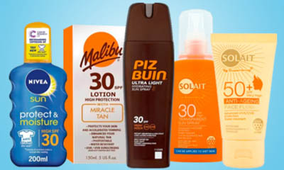 Free Suncream from Superdrug