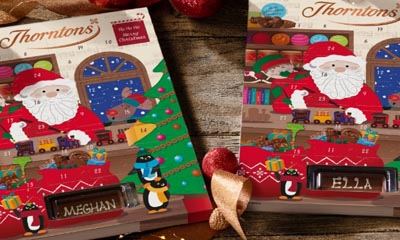 Two Free Thorntons Advent Calendar (Personalised)