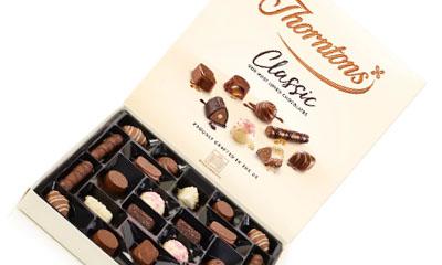 Free Box Of Thorntons Classics Chocolates
