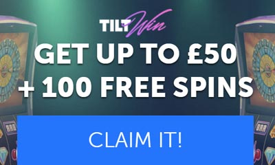100 Free Spins Plus £50 Free